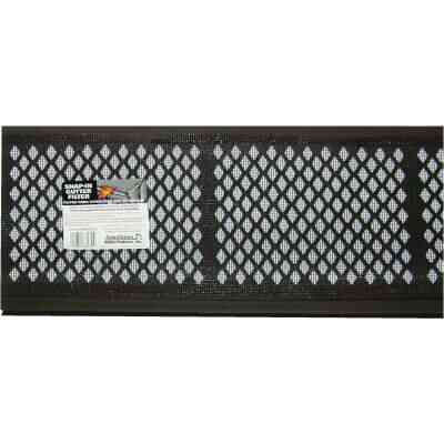 Amerimax 3 Ft. Brown Vinyl Gutter Guard with Filter