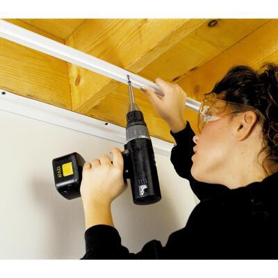 CeilingMax 2 Ft. x 15/16 In. White PVC Ceiling Tile Cross Tee
