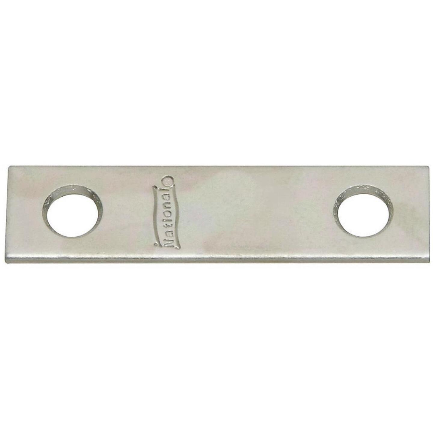 National Catalog 118 2 In. x 1/2 In. Zinc Steel Mending Brace (4-Count) Image 1