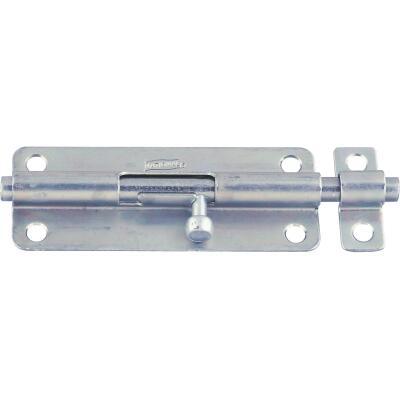 National 5 In. Zinc Steel Door Barrel Bolt