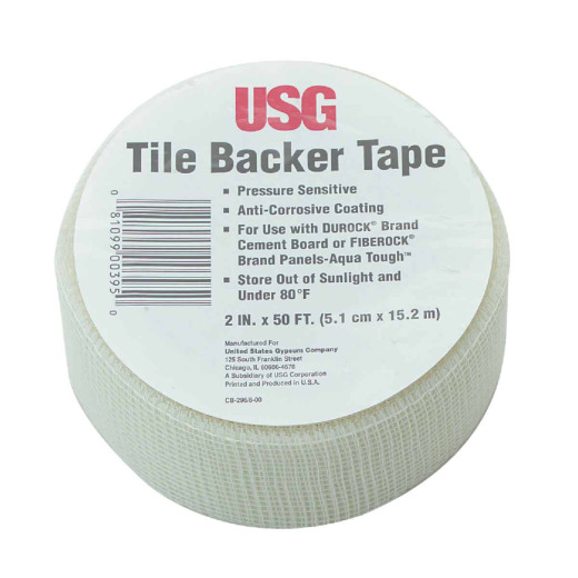 Durock 2 In. X 50 Ft. Tile Backer Interior Drywall Tape For Wet Areas