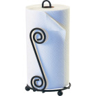Spectrum Elegant Scroll Countertop Portable Paper Towel Holder Image 1