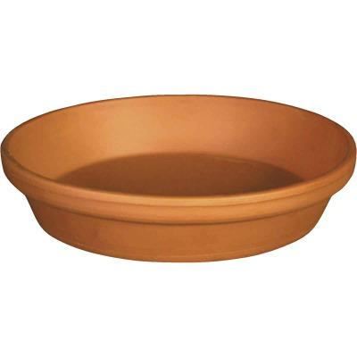 Ceramo 12 In. Terracotta Clay Standard Flower Pot Saucer