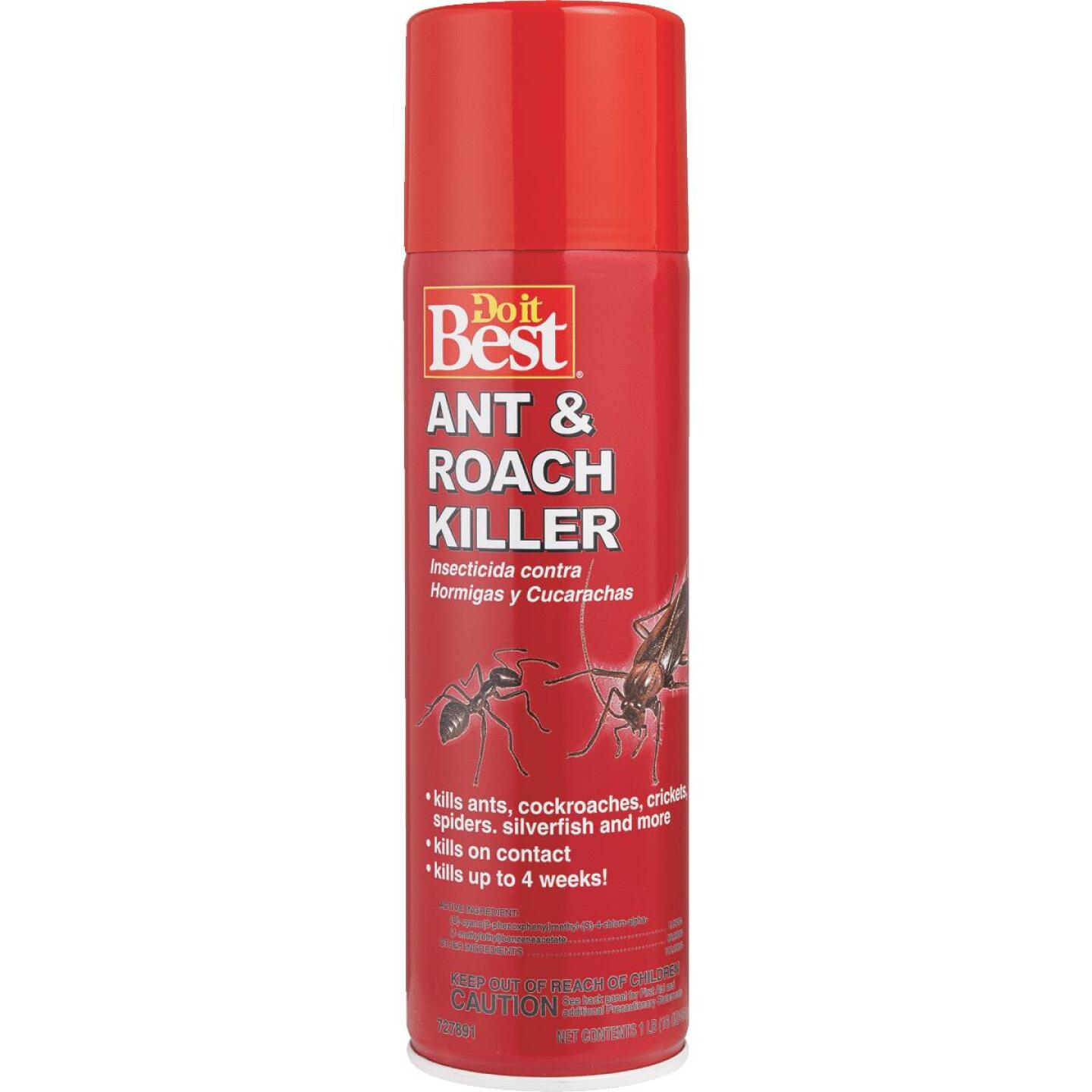 Do it Best 16 Oz. Aerosol Spray Ant & Roach Killer Image 1
