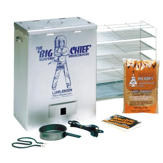 Big Chief 25 In. H. 450-Watt Vertical Top Load Electric Smoker